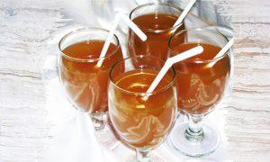 Morindah herbal drink.
