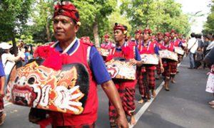 Balinese okokan dance