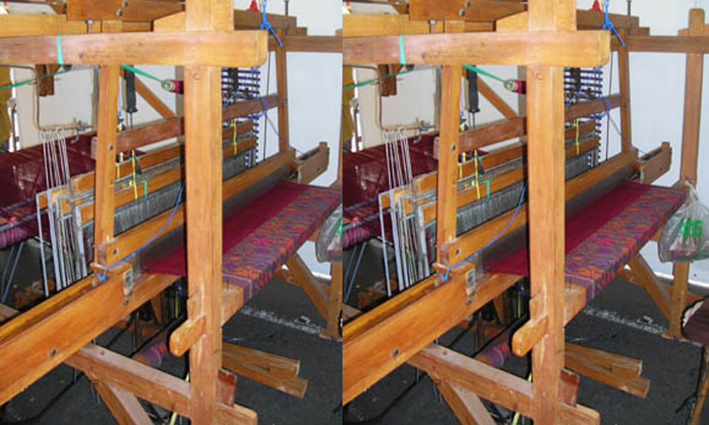 ATBM or non-mechanical loom.