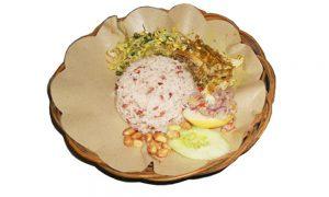 Rice and Chicken Betutu