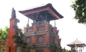Illustration of kulkul tower