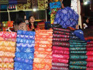 balinese endek fabrics