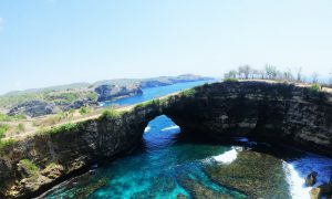 Broken Beach in Nusa Penida