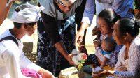 Balinese three-month rite