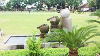 Balinese style water feature