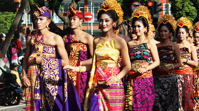 Songket clothes used in BAF Parade 2017.